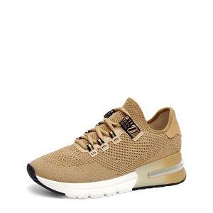 $295 ASH metallic crush lurex sneakers LIKE NEW